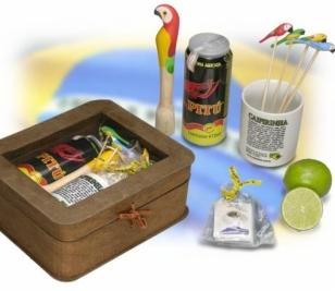 Kit nº 09 - Caipirinha com Embalagem em Papelão
